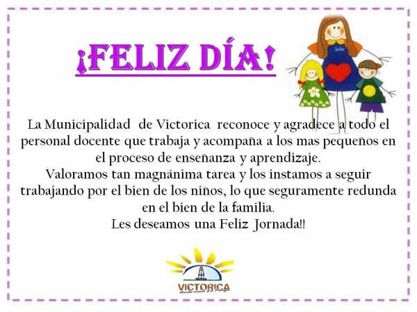 D a de los jardines municipalidad de victorica la for Canciones de jardin de infantes argentina