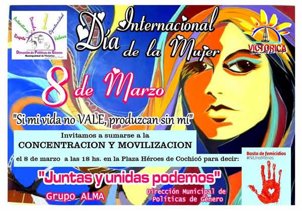 8 De Marzo Día Internacional De La Mujer Municipalidad De Victorica La Pampa Argentina